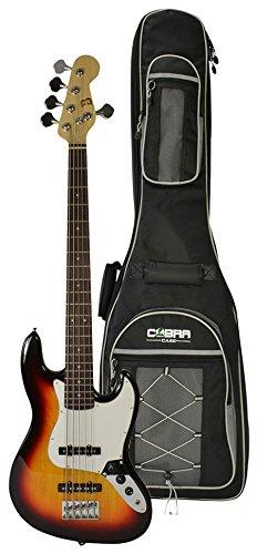 Eléctrico 5 cuerdas para guitarra de graves y Gig Bag by BRYCE ...