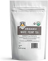 Fermentaholics USDA Certified Organic Loose Leaf White Peony Tea - Perfect For Kombucha Brewing