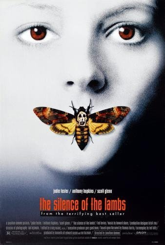 Image result for the silence of the lambs poster