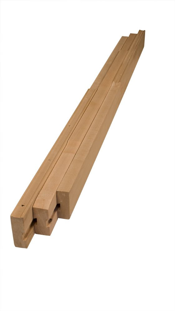 48'' Table Slide (51'' Opening) in Soft Maple - Dimensions: 48 x 3 inches