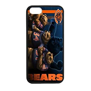 Fierce Panda Very Powerful Athlete Chicago Bears Case For Samsung Note 2 Cover Shell (Laser Technology)