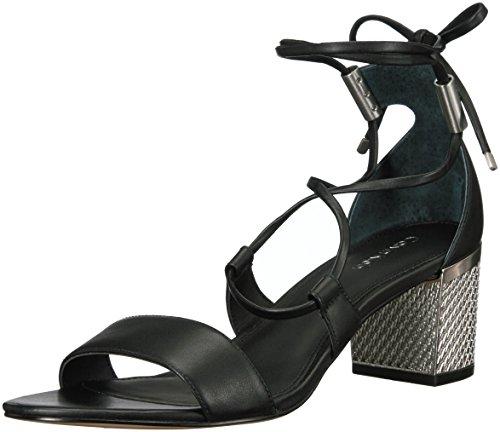 Natania Dress Sandal, Black, 8 M US (Calvin Klein Ladies Dress)