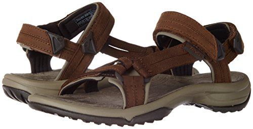 Fi Brn Outdoor And Leather Terra Women's Hiking brown Sports Teva Brown Sandal Lite SRH1Wq