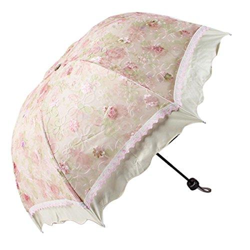 Compact Folding Folwer Flouncing umbrella