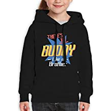 RWEA There's No Buddy Like A Brother Teenage Classic Funny Hoodie colorful