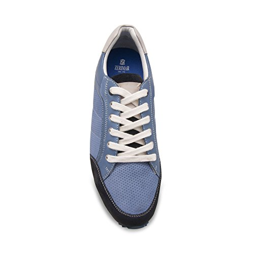 Scarpe Taglia Calzature In Colore Il Blu 44 Pelle Comfort Per Uomo Zerimar nBXx17Wx