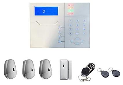 proxe 502010 Kit de Alarma sin Hilo TCP IP Profesional ...