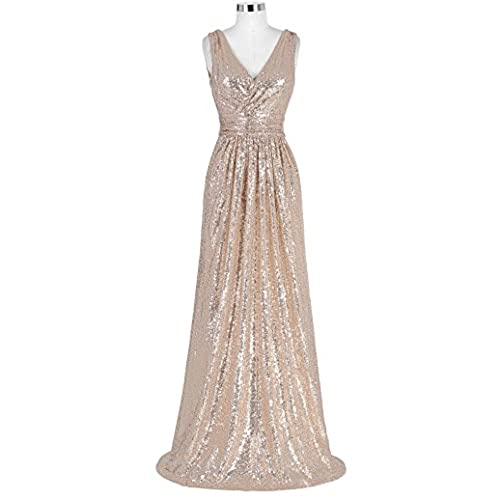 Kate Kasin Plus Size Homecoming Dress Formal Evening Party Dress Rose Gold Size 16 KK199