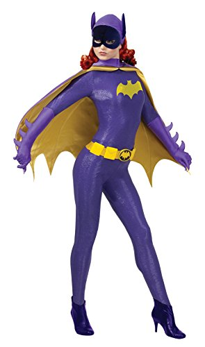 Ultimate Halloween Costume UHC Women's Batgirl Grand Heritage Classic 1966 Series Fancy Halloween Costume, Medium (8-10)