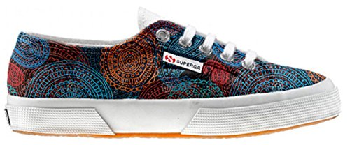 Superga Customized Chaussures Coutume Back Groud Paisley (produit artisanal)