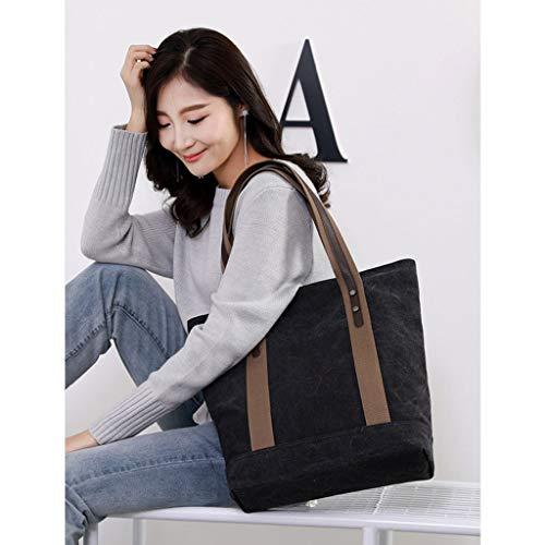 Messenger Bag Mode Noir CHENGYI Voyage Satchel Toile Crossbody Casual De Épaule Dames Sacs S5wH4q