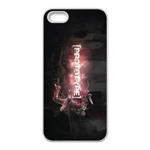 A4U15 prototype B0P6SF coque iPhone 5 5s cellulaire cas de téléphone couvercle coque blanche DJ2PDP8SU