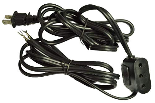 Lead Machine Power Cord - Double Lead Power Cord #123 for Singer Featherweight