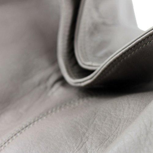 modamoda de - Made in Italy - Bolso al hombro para mujer gris gris