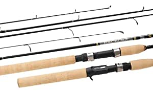 Daiwa Exceler 2 Piece Action Trigger Casting Rod, 6-Feet Medium