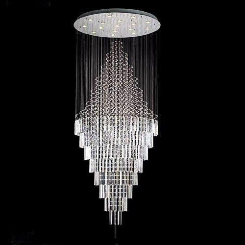 New Modern Contemporary Chandelier Rain Drop Chandeliers H 100 W 41 Over 8ft Tall