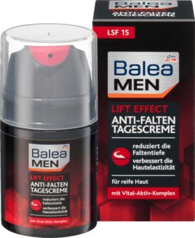 Balea MEN day care lift effect, 50 ml (pack of 2) - German product ()