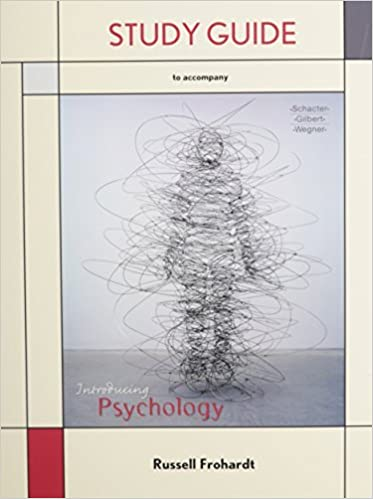 Study Guide for Introducing Psychology by Daniel L. Schacter (2010-05-20)