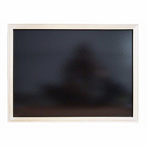 Pack of 2 Wood Framed Black Dry-Erase Boards (18 x 24 ins) … ()