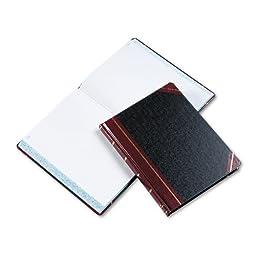 Boorum & Pease - Columnar Book, Quadrille Rule, Black, 300 Pages, 10 3/8 x 8 1/8 21-300-Q (DMi EA