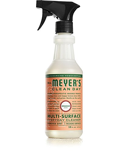 Mrs. Meyer's Clean Day Multi-Surface Everyday Cleaner, Geranium 16.0 OZ(Pack of 3)