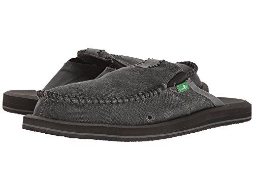 Sanuk Mens M Vous Avez Ma Sandale Slip-on Dos Ii (12 D (m) Us / 45 Eur, Charbon De Bois)