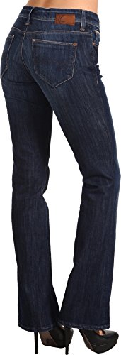 Mavi Jeans Women's Molly Mid-Rise Bootcut in Indigo Bloomsbury Indigo Bloomsbury 25 (Bloomsbury Leather)