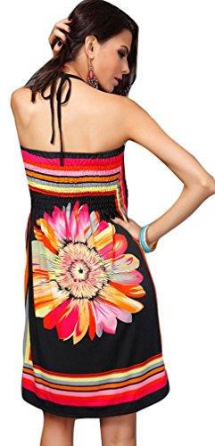 iKneu - Camisola - para mujer Pattern1-Black
