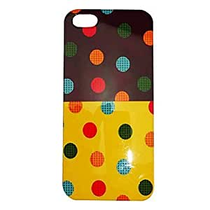 Simple Style Colorful Ground Dot Pattern Back Case for iphone 6 4.7