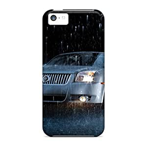 New Snap-on RdPrice Skin Case Cover Compatible With Iphone 5c- Mercury