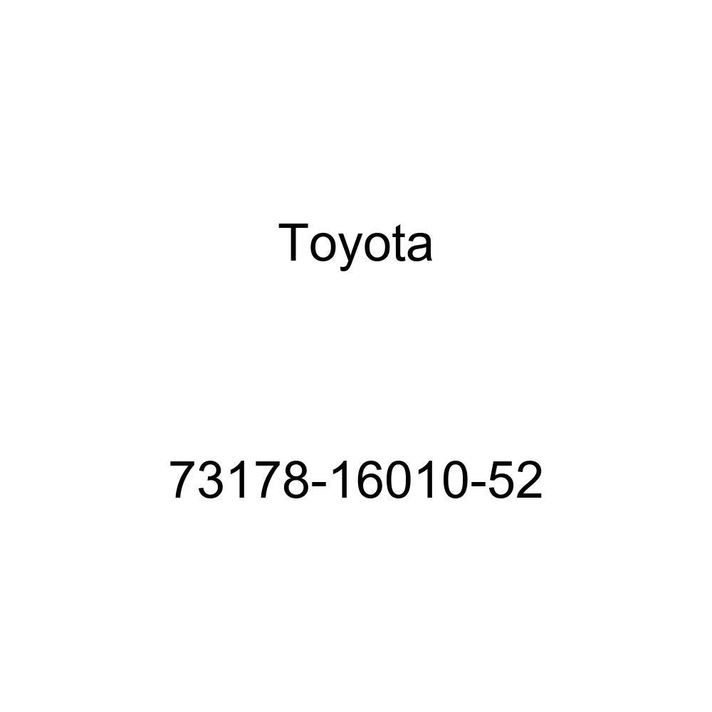 Genuine Toyota 73178-16010-52 Seat Belt Anchor Cover Cap