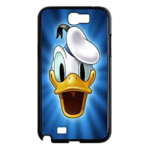 Donald Duck Cartoon Samsung Galaxy N2 7100 Cell Phone Case Black TPU Phone Case SV_058810