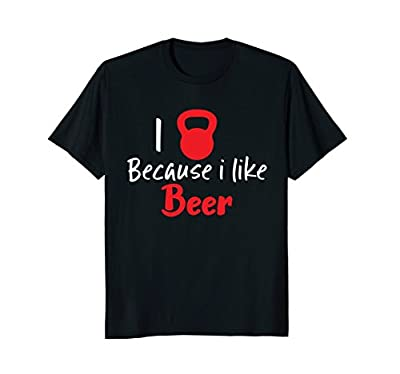 Fitness Kettlebell Workout T Shirt Home GYM Funny Saying