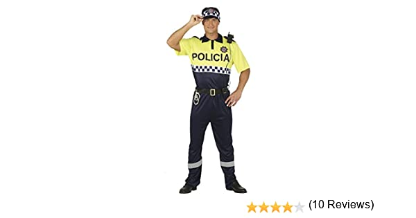 Guirca- Disfraz adulto policía local, Talla 48-50 (88190.0 ...