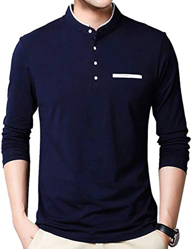 EYEBOGLER Men's Solid Regular Fit T-Shirt