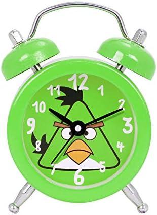 Avujibe Kids Alarm Clock with Cartoon Triangle Bird Design