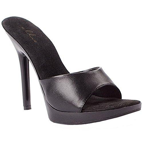 Scarpe Ellie Womens 502 Vanity Dress Sandal Black Patent