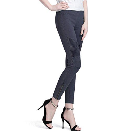 Zipper Cropped Legging - 3