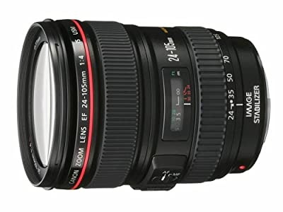 Canon EF 24-105mm f/4L IS USM Zoom Lens - White Box (New) (Bulk Packaging) by Canon Cameras