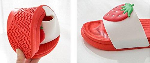 Zapatillas Interior Blanco Zapatillas Mujer baño Hombres Grueso Hombre Fresco TELLW Verano Hogar Antideslizante para de de Fondo dqRaU4wxz