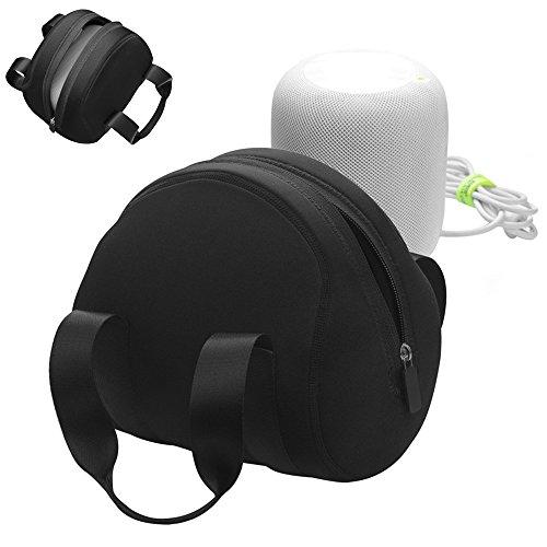 Viajar Caso para Apple HomePod, Gigabit Protector Cubrir Caso Almacenamiento Bolso Portátil Funda para Altavoz de Apple...