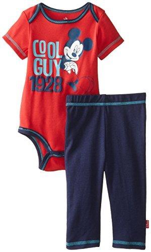 Disney Baby Niños Recién Nacido Mickey Mouse Body y Pant Set- Cool ...