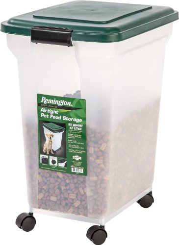 Buy IRIS Remington Airtight Pet Food Storage, 42-Pounds, Hunter Green