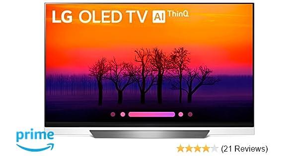 b66077ff8c5 Amazon.com: LG Electronics OLED55E8PUA 55-Inch 4K Ultra HD Smart OLED TV  (2018 Model): Electronics