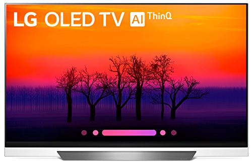 LG OLED55E8PUA 55-Inch 4K Ultra HD Smart OLED TV (2018 Model)