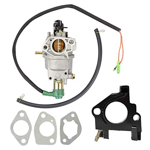 Mannial Carburetor Carb fit Honda GX240 8HP GX270 9HP GX340 11HP GX390 13HP Generator 182 188 Engine Motor 16100-Z5L-F11 with Insulator Spacer Gaskets Fuel Line