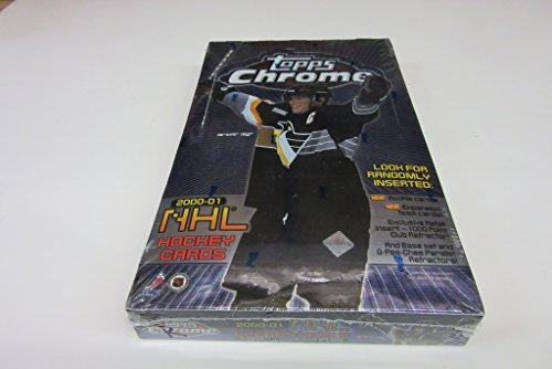 - 2000/01 Topps Chrome Hockey Box (Retail)