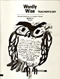 Wordly Wise Book 4 Teacher Key Grd 7