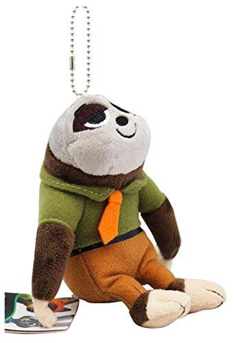 Disney'S Zootopia Flash Stuffed Plush Keychain - Toy