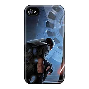 New Style Tpu 4/4s Protective Case Cover/ Iphone Case - Star Wars Darth Vador by lolosakes